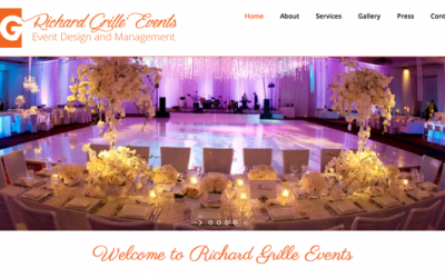 Richard Grille Events Website