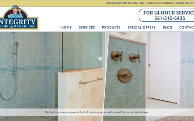 Integrity Plumbing and Drain Website