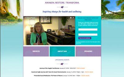 Jan Kinder Website